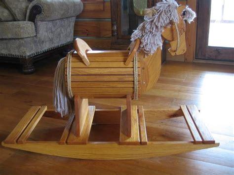 items similar  rocking horse solid oak barrel belly