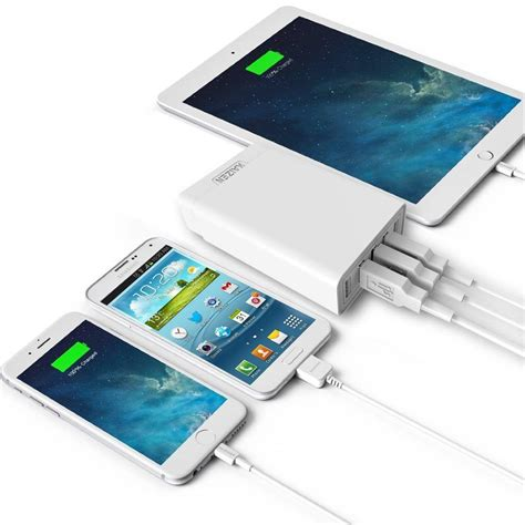 Charger 1 5 Air 1 Air 2 Mini 1 Mini 4 fast 5 ports usb mains charger portable charger for