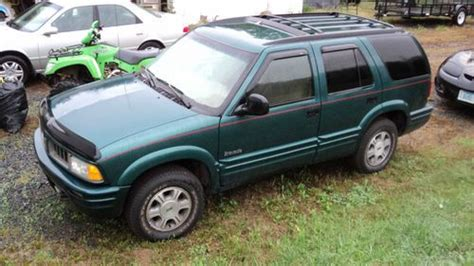 automobile air conditioning service 1997 oldsmobile bravada transmission control buy used 97 1997 olds oldsmobile bravada awd 4 3 v6 automatic looks like a chevy blazer in