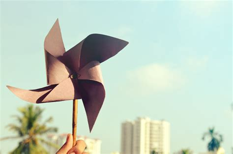 Origami Windmill - free stock image collection for your