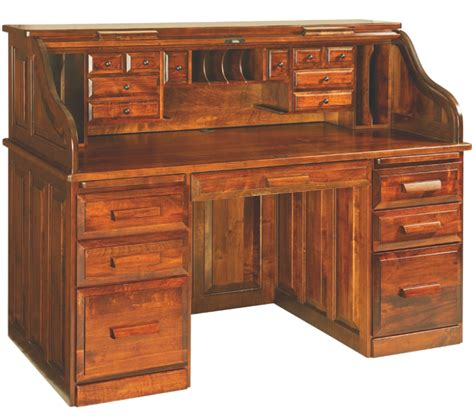Roll Top Desks For Home Office Enjoy A Classic Roll Top Desk For Your Home Office Amish Furniture Showcase