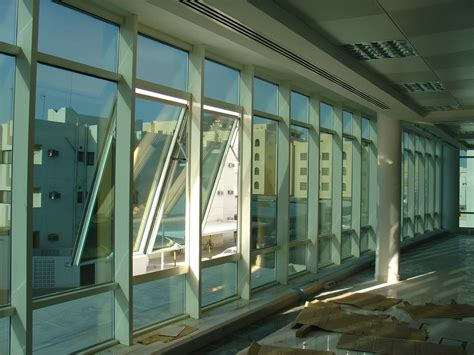 window curtain wall boston aluminium glass