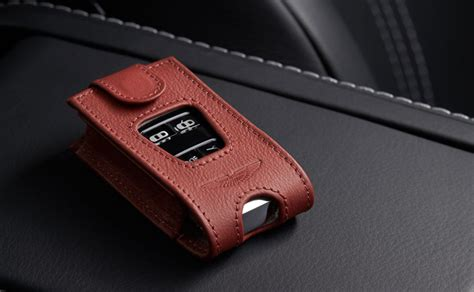 leather ecu key pouch