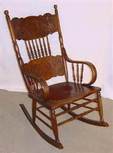 antique pressed back rocking chair 1890 s pressed back solid oak rocking chair
