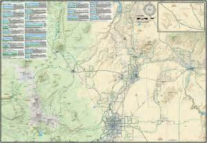 central oregon road biking map guide adventure maps