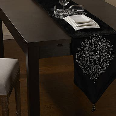 black velvet table runner black velvet table runner with floral 80 quot 215 12