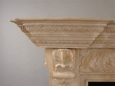 Faux Marble Fireplace Surround by Georgian Style Faux Marble Carved Painted Pine Fireplace
