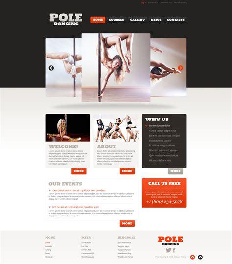 blogger themes dance dance studio responsive wordpress theme 52825