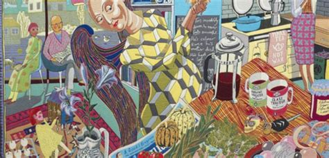 Grayson Perry Vanity Of Small Differences by Grayson Perry At Temple Newsam Exhibition In 2014 An