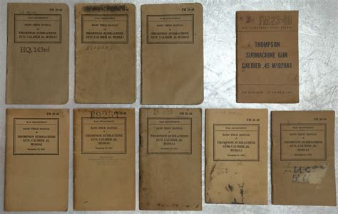 thompson and catalog thompson manuals and a catalog for sale thompson
