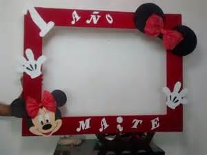 portaretrato gigante de minnie bebe imgenes marco gigante para fiesta mimi y mickey mouse cuadro