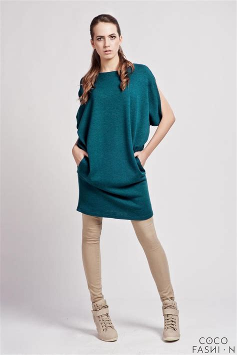 comfortable business casual attire cesious comfortable casual tunic dress with bat sleeves