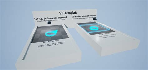Unreal Engine 4 13 Brings Vr Templates Here S How To Get Started On Your Own Vr Game Vrfocus Ue4 Vr Template