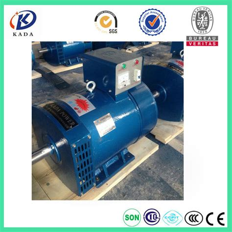 rubber st generator free st 7 5kw free shipping to by sea mono phase brush