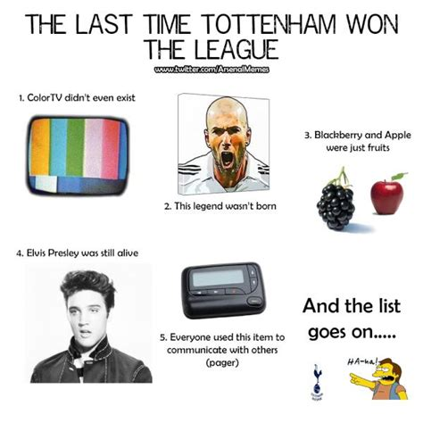 Arsenal Tottenham Meme - arsenal memes arsenalmemes influencer profile klear
