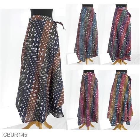 Rok Lilit Murah Batik rok batik lilit panjang motif nitik liris pelangi bawahan rok murah batikunik