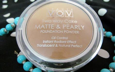 Avione Two Way Cake Powder Beige vov two way cake matte and pearly foundation powder