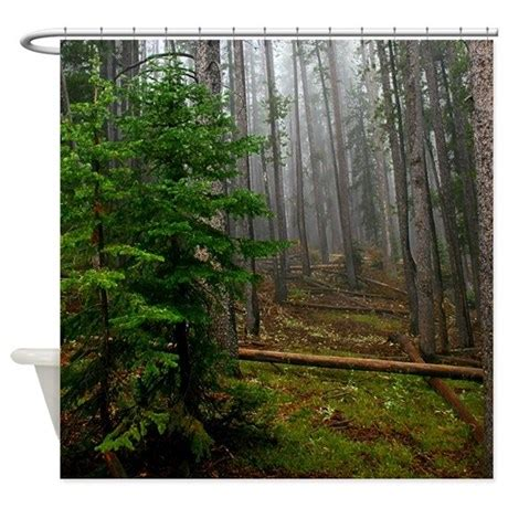 pine curtain pine forests 2 shower curtain by saltypro shop
