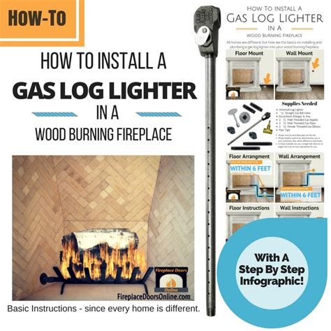 fireplace gas starter pipe fireplace gas starter pipe installation