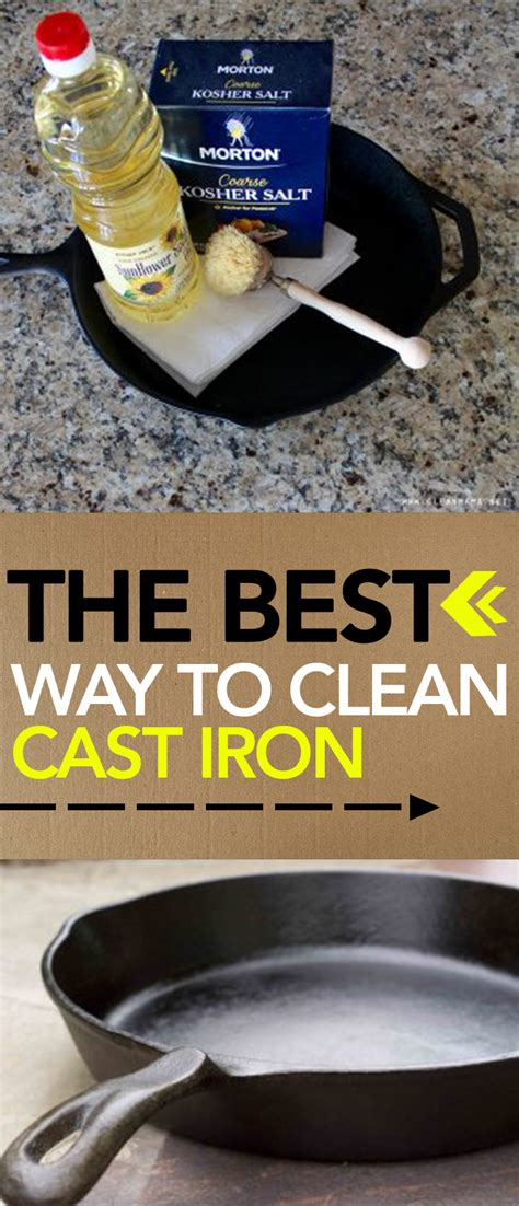 Best Way To Clean by The Best Way To Clean Cast Iron Page 3 Of 8