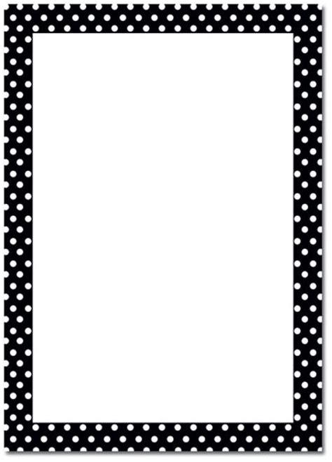 Printable Polka Dot Border Paper | 6 best images of polka dot template printable polka dot