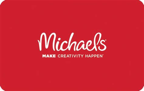 Michaels Craft Store Gift Card - michael s gift card