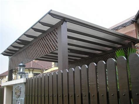 Polycarbonate Awning Design by