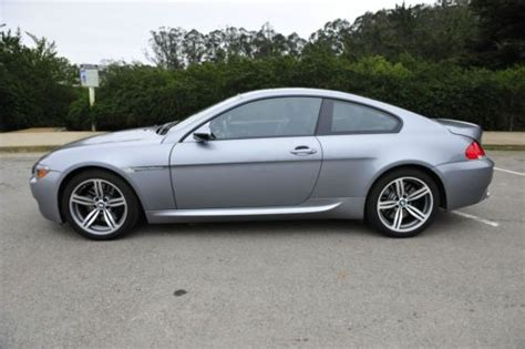 Sf M6 Cp Salir Grey sell used 2007 bmw m6 base coupe 2 door 5 0l in san