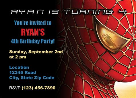 Resume Reference Sample by Doc 1047800 Free Spiderman Invitation Cards Spiderman