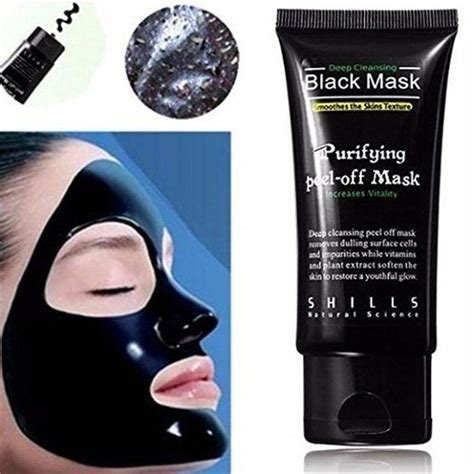 Detox Mud Mask For Acne by Luckyfine Blackhead Remover Cleaner Purifying