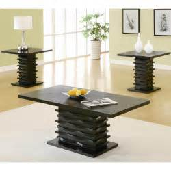 Coaster Coffee Table Set Coaster Furniture 701514 Contemporary 3 Pieces Coffee