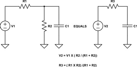 capacitor circuit simplification simplifying series parallel rc circuit electrical engineering stack exchange