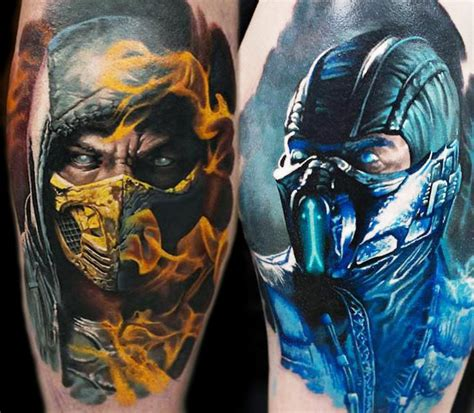 mortal kombat tattoo designs mortal kombat by denis sivak