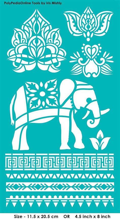 pattern maker thailand stencil stencils pattern template reusable adhesive