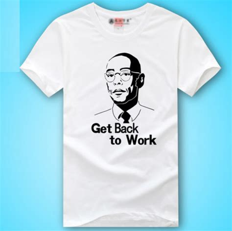 Where To Get Shirts Breaking Bad Gus Fring Logo S T Shirts Get Back To