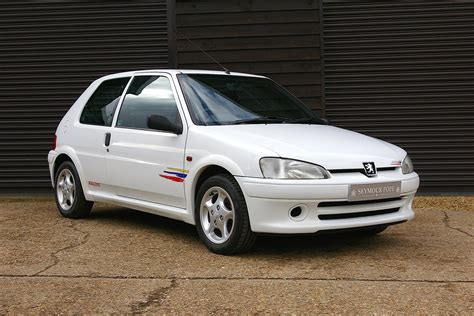 used peugeot 106 used 1998 peugeot 106 rallye for sale in herts pistonheads