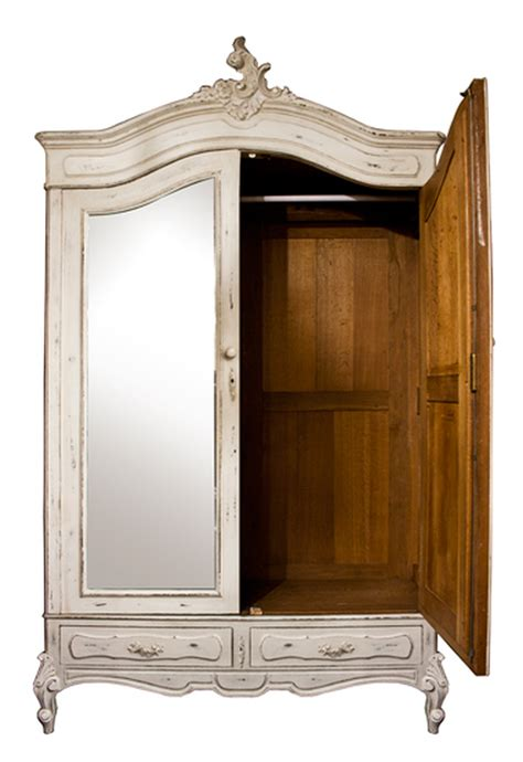 painted french armoire secondhand exhibition and display equipment the old cinema london painted oak