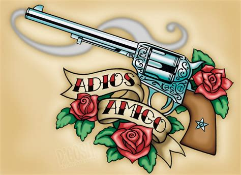 tattoo old school revolver rose tattoo sketches best tattoo design ideas