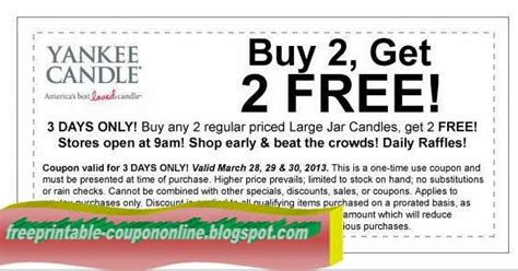 printable yankee candle coupons december 2017 printable coupons 2017 yankee candle coupons