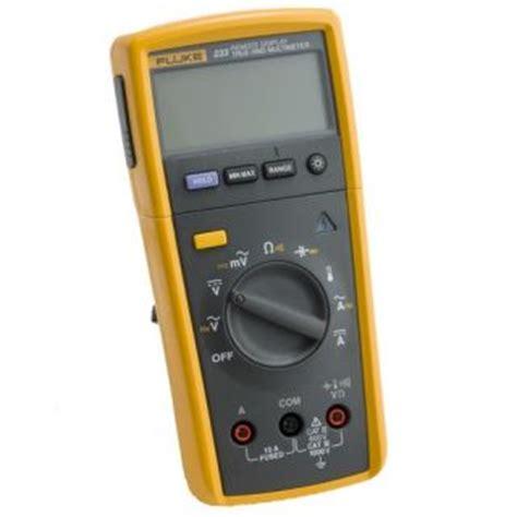 Remote Display Multimeter Fluke 233 fluke 233 a remote display digital multimeter kit on popscreen