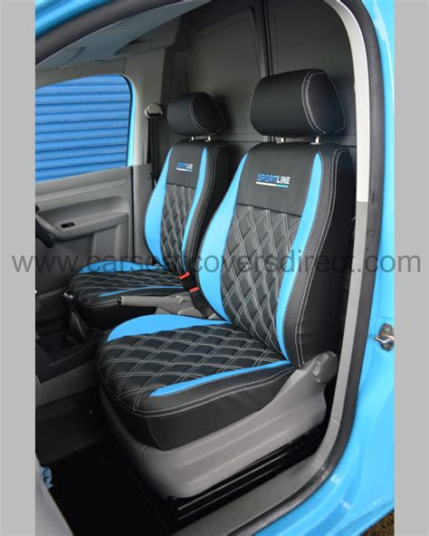 vw caddy back seats volkswagen vw caddy seat covers black blue car seat