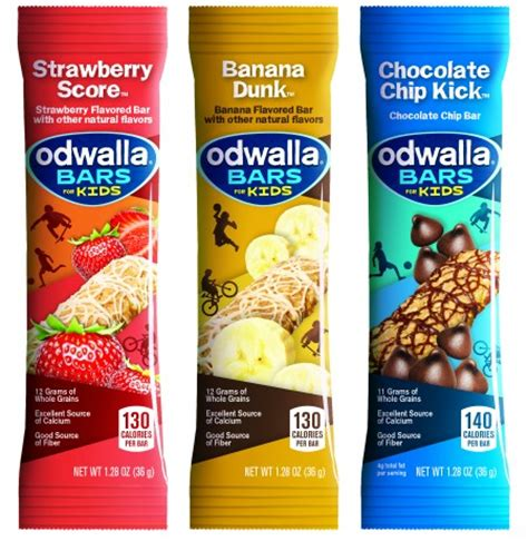 Healthy Snack Jigsaw Bars by Odwalla Bars For