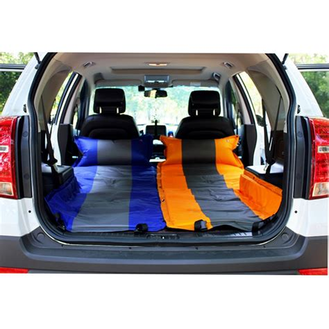 car mattress travel bed inflatable mattress air bed sedan  boottrunk cover  renault opel