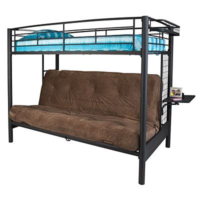 twin over full futon bunk bed with mattress twin futon bunk bed big lots