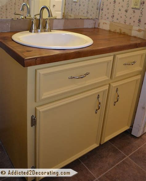 Bathroom Vanity Countertops Ideas by Bathroom Vanity Makeover Hometalk