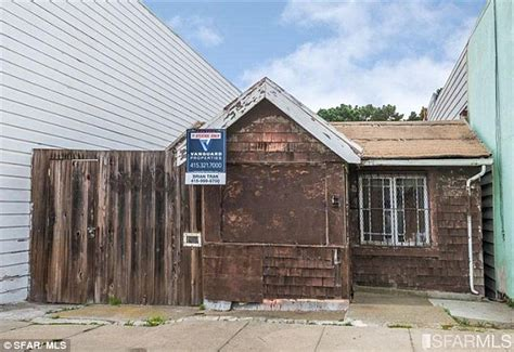 this 350 000 shack is the cheapest property listed in san francisco shack that is falling apart sells above