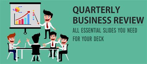 quarterly business review presentation all the essential