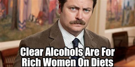 13 food wisdoms to live by according to ron swanson