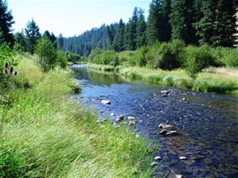 Middle Fork of John Day River, Oregon   in proximity of