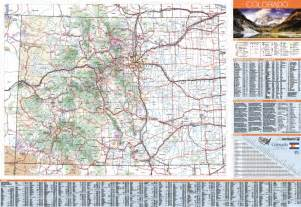 colorado dot map travel map
